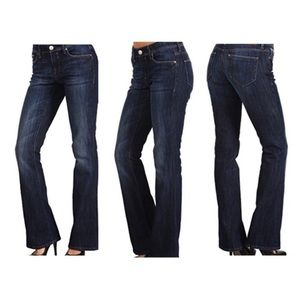 Mavi Sz 27 Molly Mid Rise Classic Bootcut Jeans